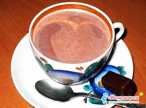 Как варить какао с молоком рецепт пошагово в домашних условиях