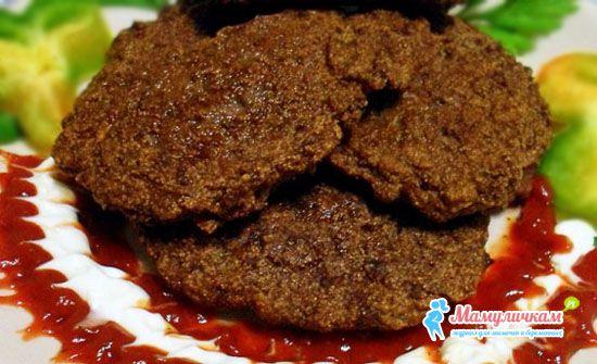 Котлеты из печени для ребенка рецепт с фото