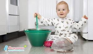Жизнь малыша в стерильной среде послужит развитию аллергии фото