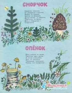 Опенок и сморчек Прокофьев