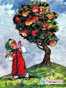 Девочка отказалась есть яблоки