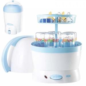 Паростерилизатор Vapo Rapid стерилизует бутылочки, соски, посуду для детей