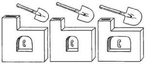 Лопаты и печки