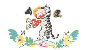 Обрадовались кот да петух. Ну Жихарку целовать! Ну Жихарку обнимать!